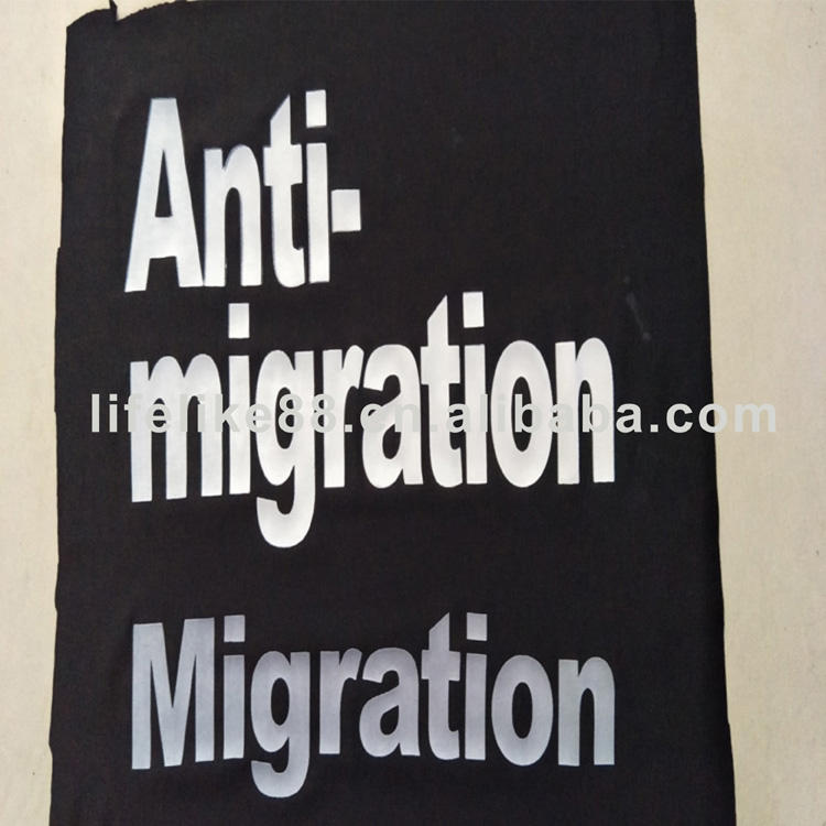Silkscreen printing textile ink for anti-migration
