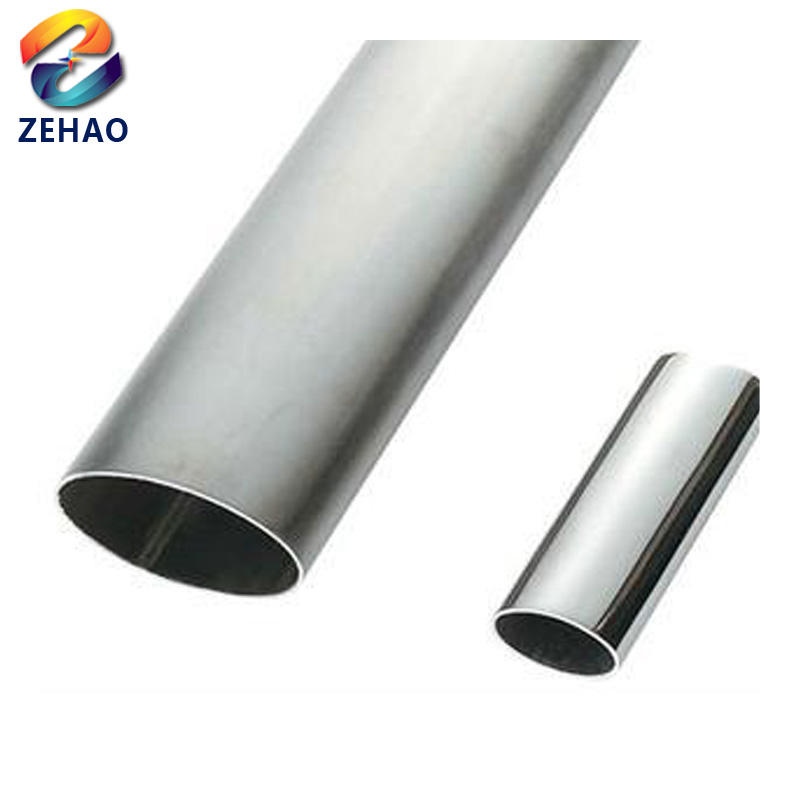 "cold drawn welded galvanized flat oval steel pipe 1 1/4"" gi pipe"