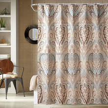 High Quality printed polyester Shower Curtain Waterproof Shower Curtain