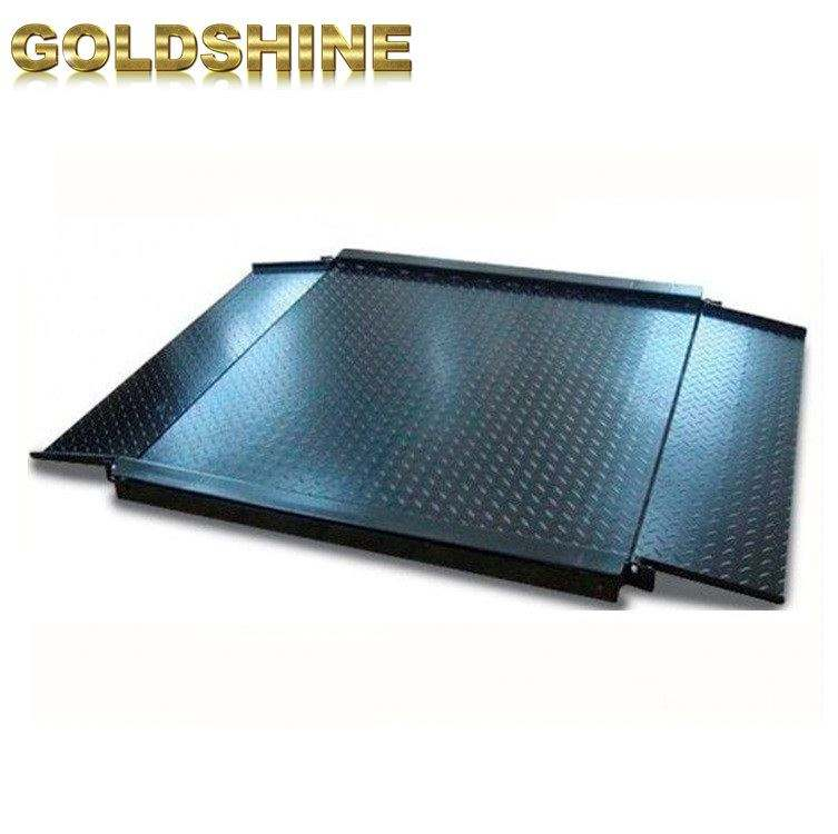 Double ramps digital medium ground industry electronic platform scales for sale floor weighing scale 1500kg