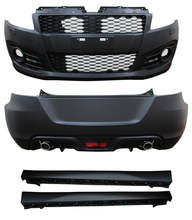 AUTO TUNING CAR BODY KIT 2012 SPORT TYPE FRONT BUMPER+REAR BUMPER+SIDE SKIRT FOR SUZUKI SWIFT