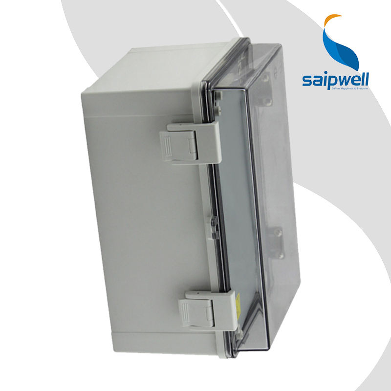 Saip/saipwell 400*300*170mm decoratieve outdoor plastic aansluitdoos