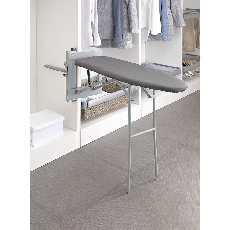Guiding Hot-sale folding ironing board install in wardrobe with factory price