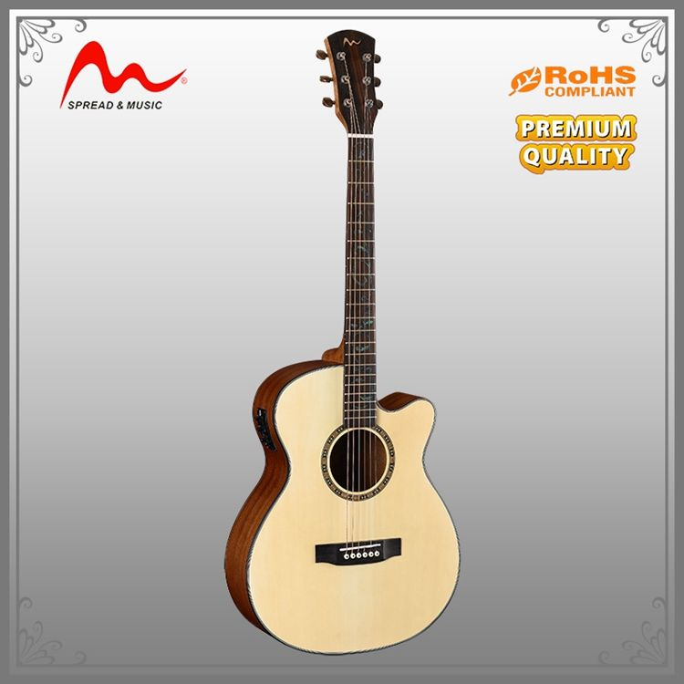 new stylish cheap basswood acoustic student guitar with short lead time