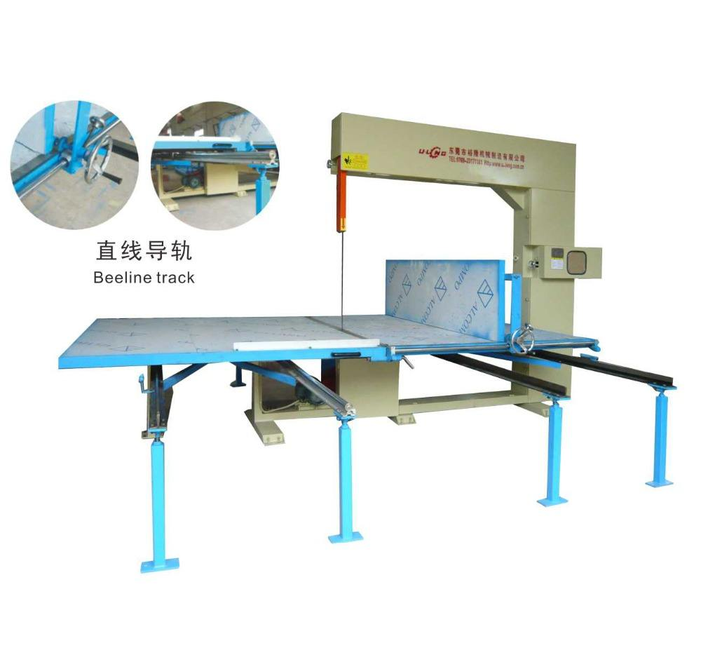 High Precision Vertical Sponge Foam Cutting Machine