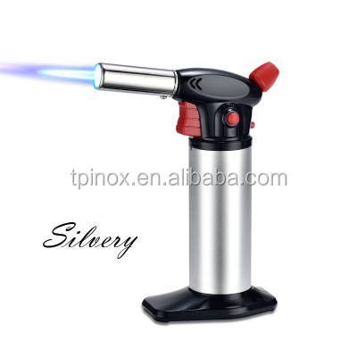 Butane Torch | Refillable Cooking Kitchen Blow Torch With Safety Lock ,Adjustable Flame