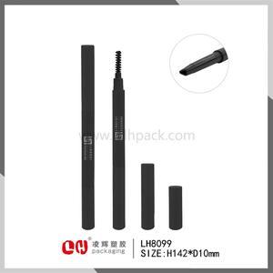 Горячие продажи чистый черный цилиндрической формы тонкий тушь трубки