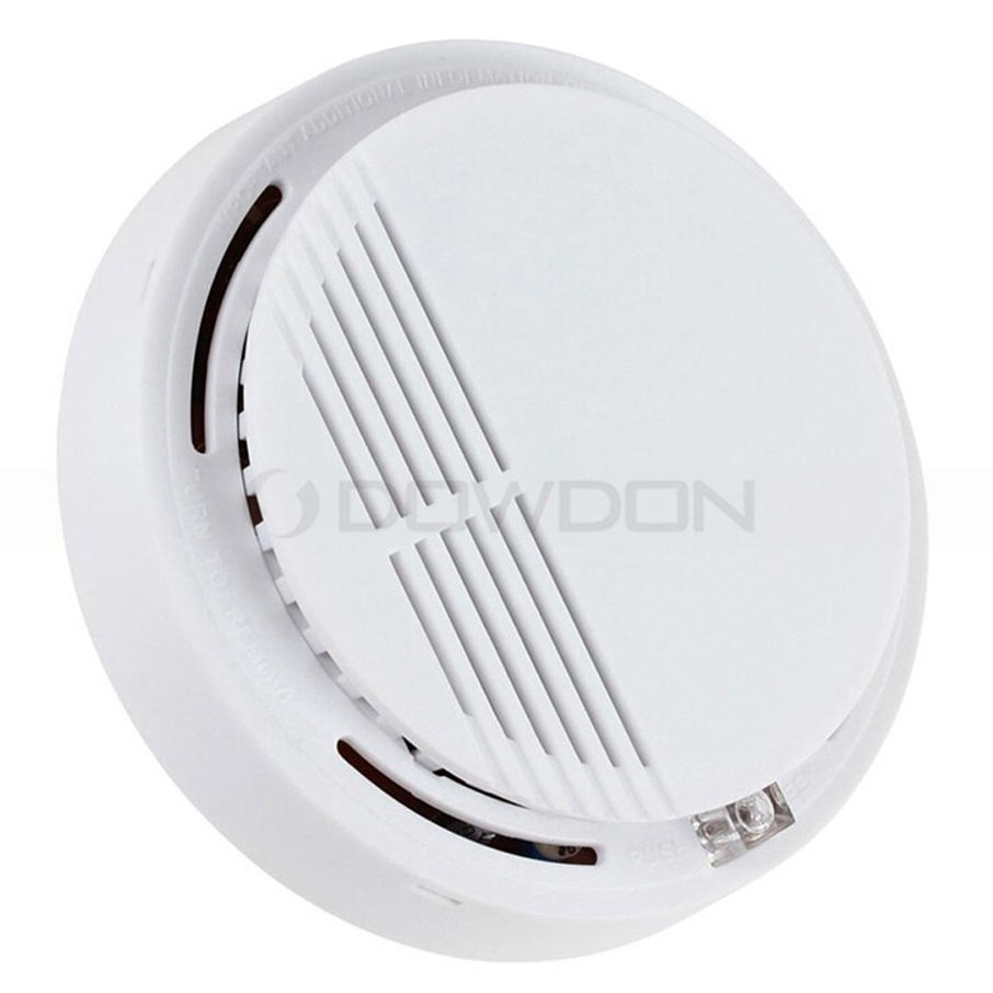 Wireless 9V Battery Photoelectric Home Room Office Smoke Alarm Detector
