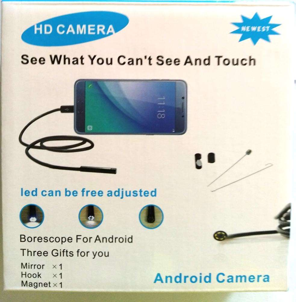 Waterproof USB Endoscope Borescope Inspection HD Snake Camera for Android