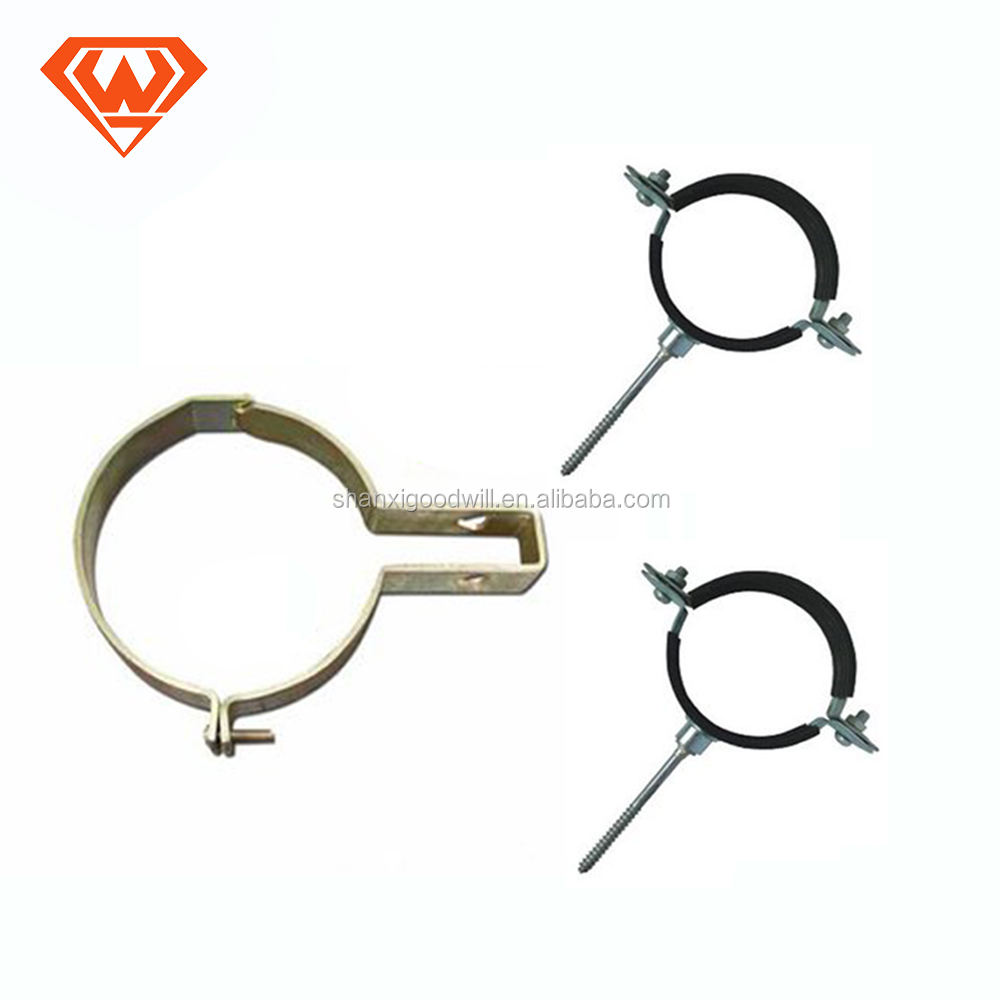 w1 quick u type pipe saddle clamp with screw hose clamp