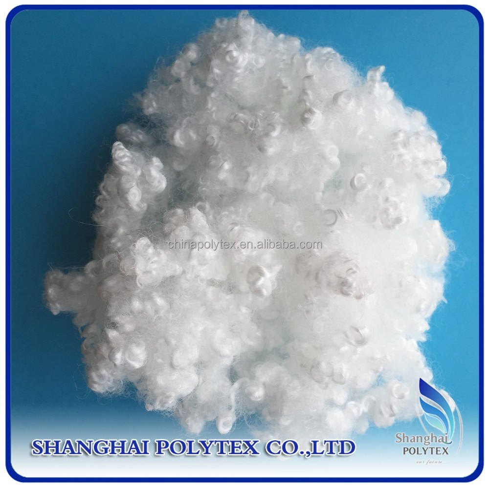 PET flakes materials recycled polyester fiber staple for filling