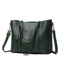 Large Capacity Green Ladies Shoulder Bags For Women