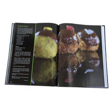 Custom A Professional Cheap Photo Cook Recipe Hardcover Paperback Book Printing