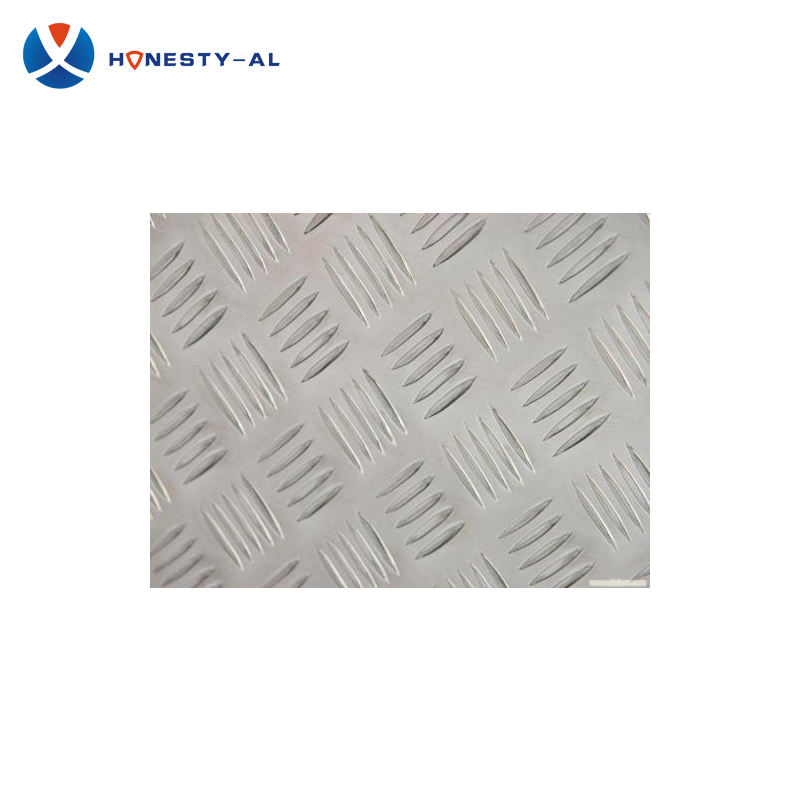 5052 6061 T6 MF PI 5 bar aluminium diamond patterned tread plate sheets price