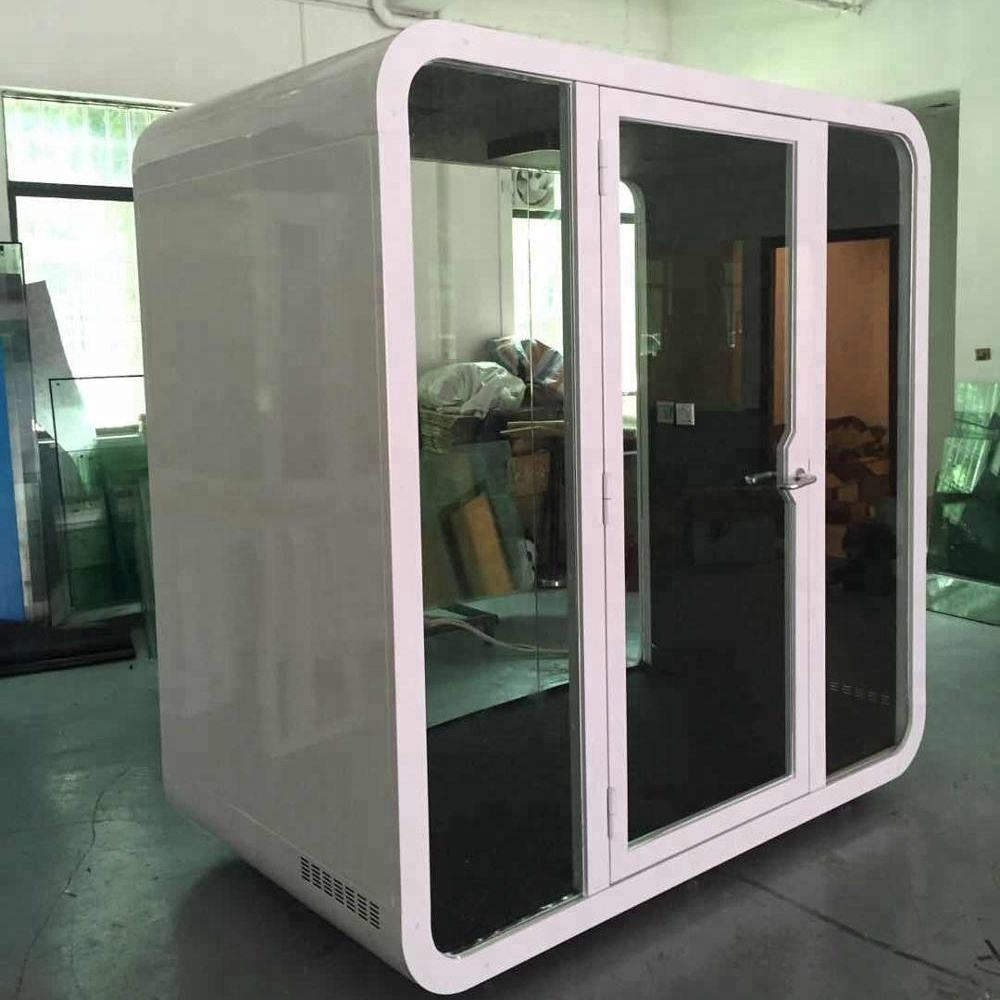 Safe and solid easy assemble container paint booth price