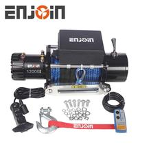 ENJOIN Hot China 4x4 Electric Winch 12v Electric Winch 12000 lbs