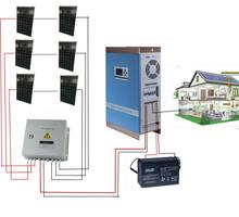 5KW Solar Power Panel System Home For Solar Energy System