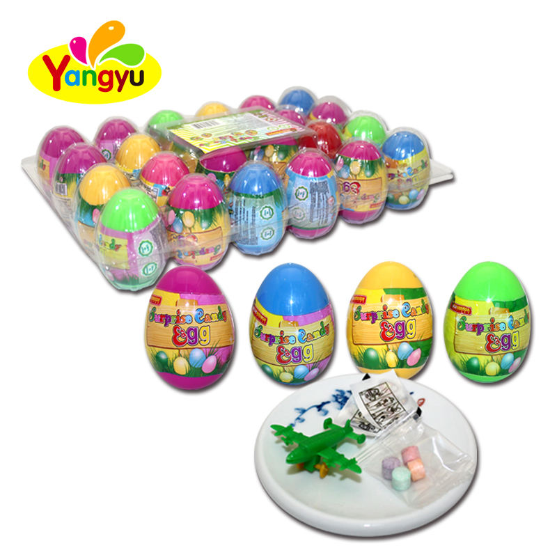 Sugar Free Plastic Surprise Toy Egg