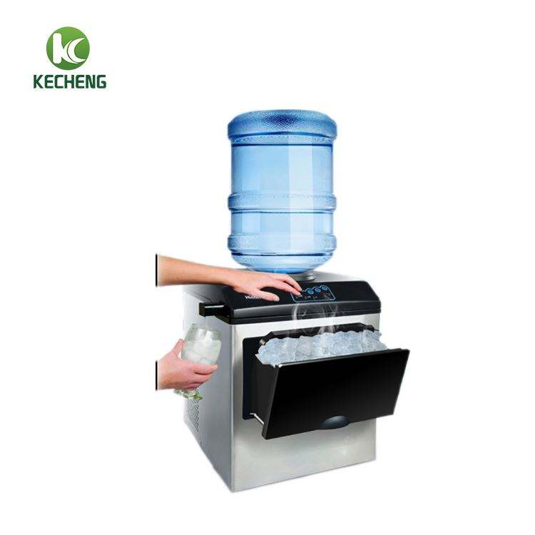 ICE MAKER WITH WATER DIPENSER/home use ice maker/WATER COOLER ICE MAKER