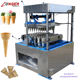 Sweet Pizza Cone Maker Ice Cream Cone Making Edible Waffle Cup Maker Machine