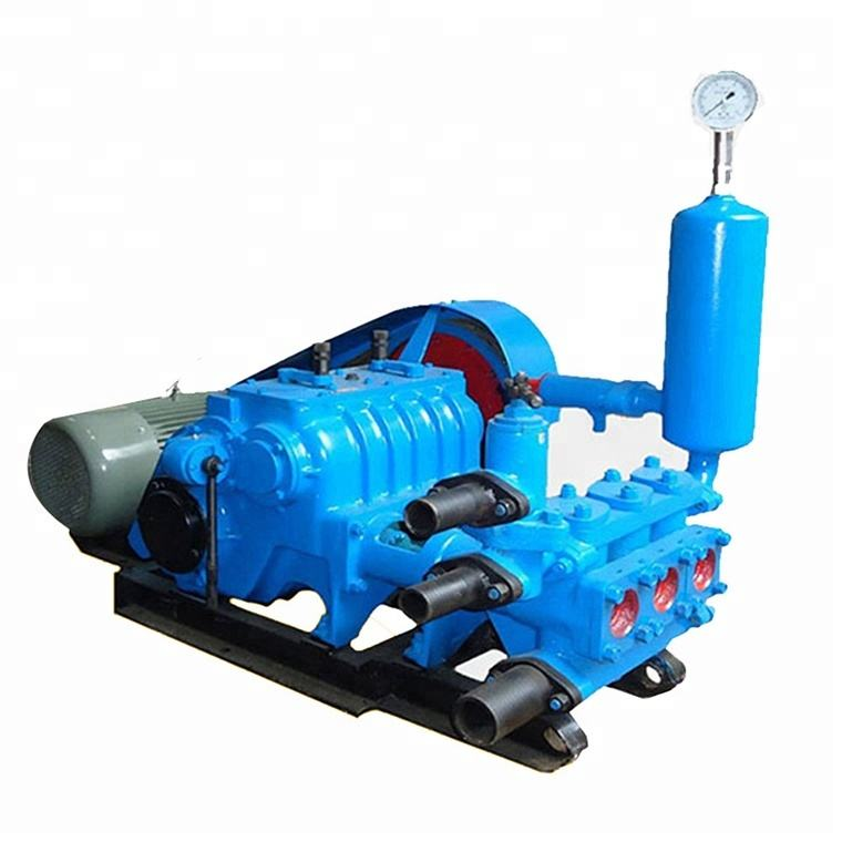 BW320 Horizontal three cylinder reciprocating single acting piston pumpw with diesel engine 4100