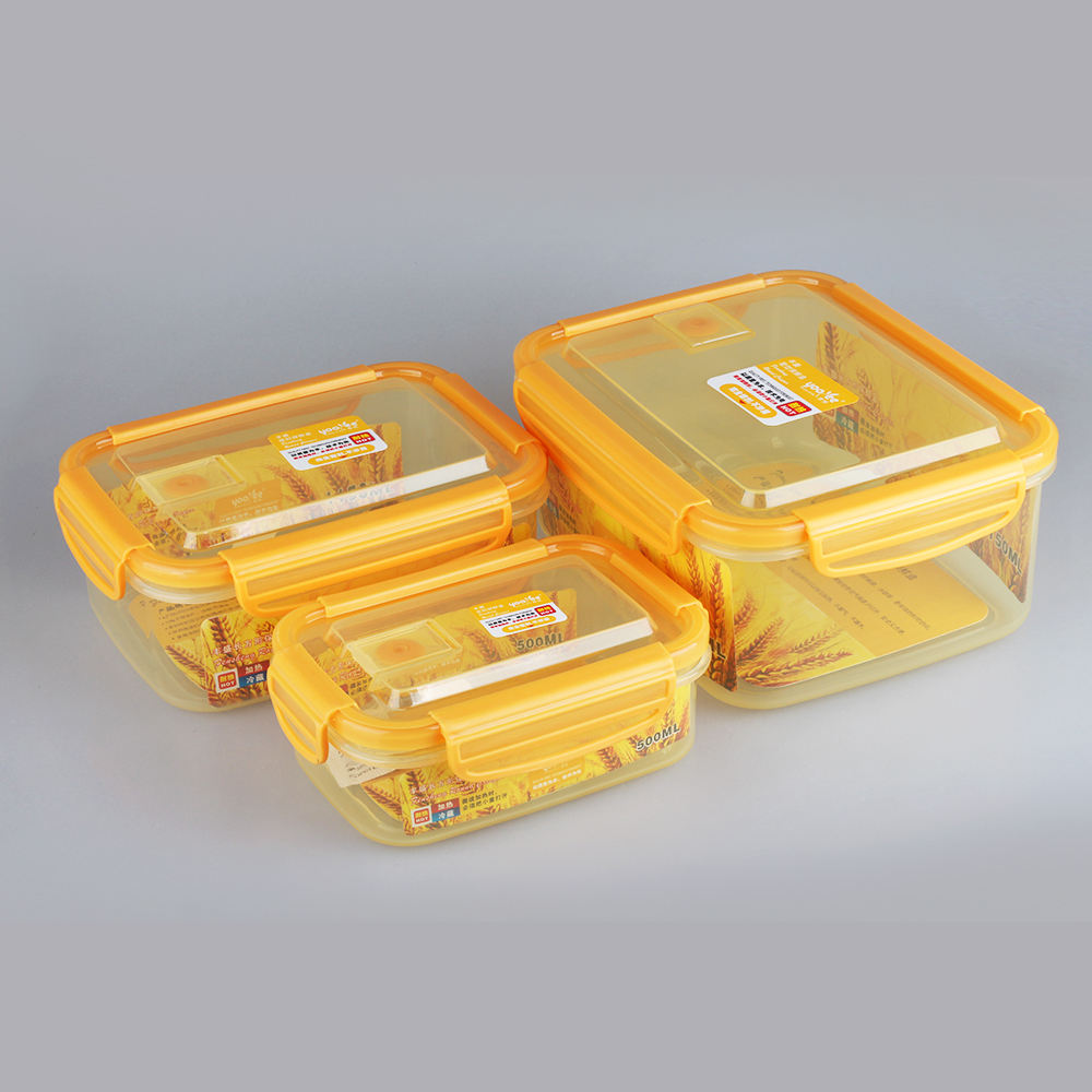 Food Grade Reusable Sushi Lunch Box Plastic Made in China