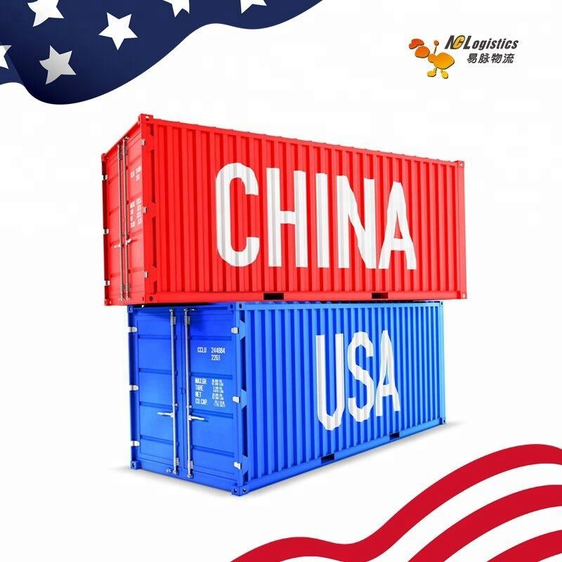 Professional Dangerous Cargo Container Sea Shipping Agent China To USA