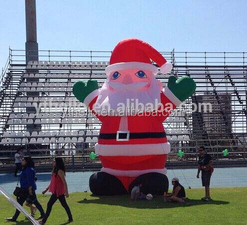 giant inflatable christmas santa inflatable christmas outdoor decorations santa claus