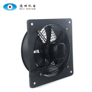 China low noise square wall exhaust alxial fan