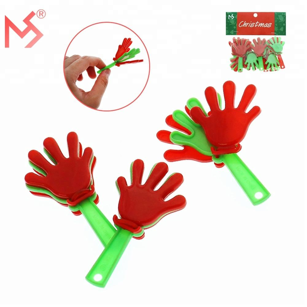 Christmas party atmosphere maker hand clap toy from China wholesale