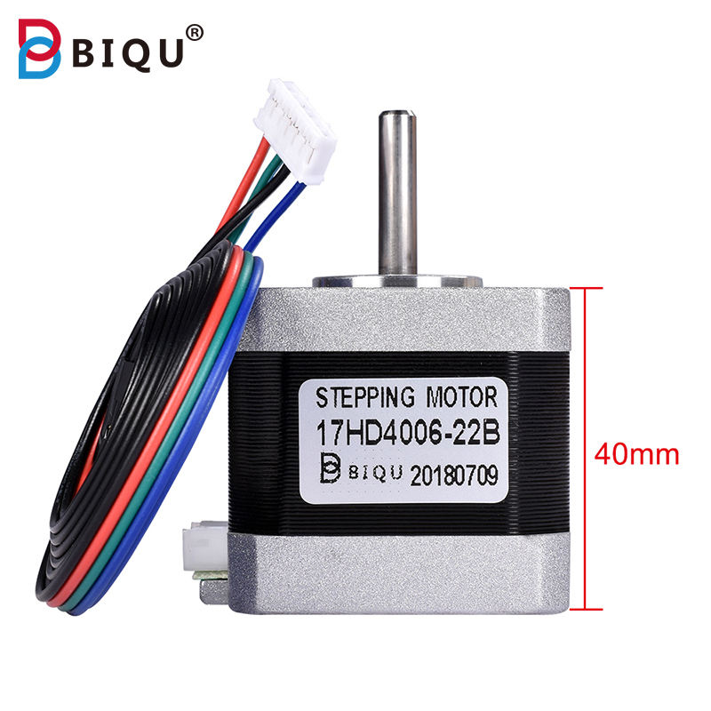 BIQU Nema17 40MM with 1 Meter Cable Stepper Motor Nema17 for 3D Printer
