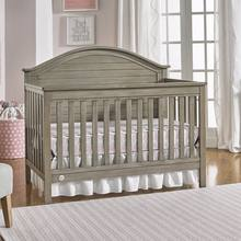 MOOB low price solid wooden convertible baby crib with US standred