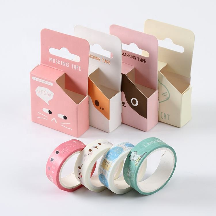 1.5cmx5m size stock design quality chinese products make flowers washi masking tape