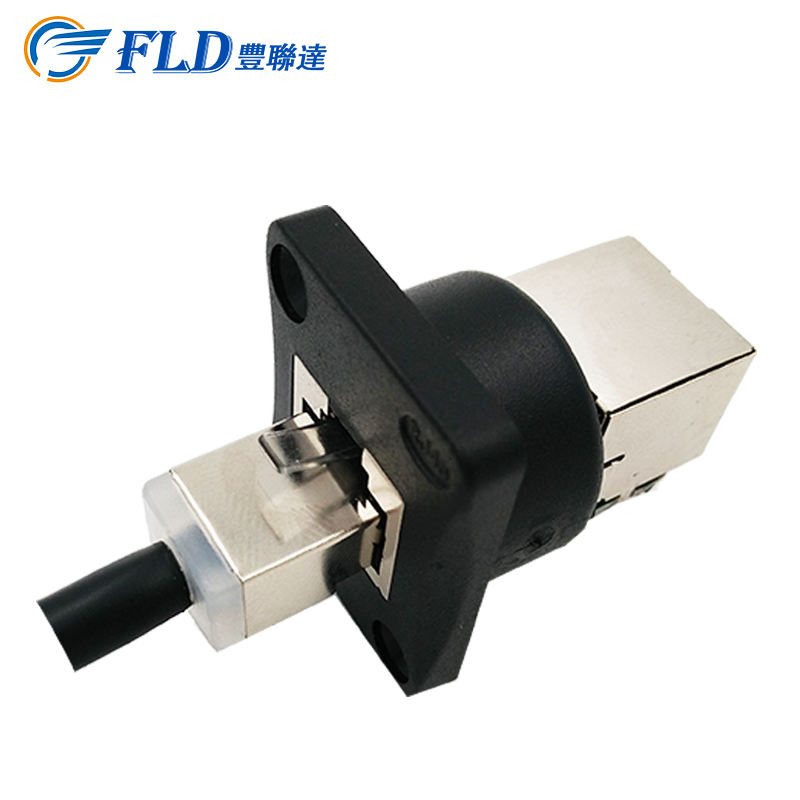 Alibaba China Fabrikant RJ45 Signaal <span class=keywords><strong>Socket</strong></span> 90 Graden Hoek IP44 Waterdichte Connector
