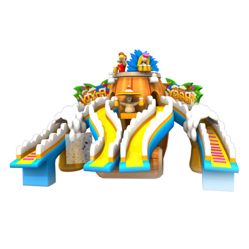 big water park inflatable slides for sale price off