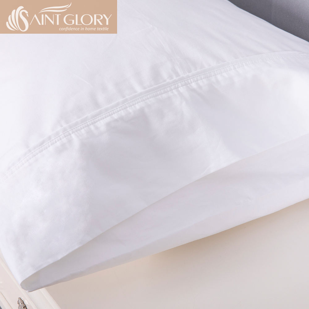 King size Silk Pillow Case with Embroidery Designs