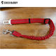 Pet Travel Red Color Reflective Nylon Bungee Leash Dog Car Safety Belt
