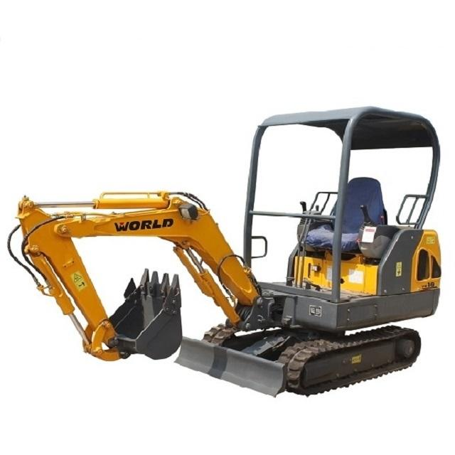 1.8Ton 0.05 m3 Bucket Mini Excavator c with CE