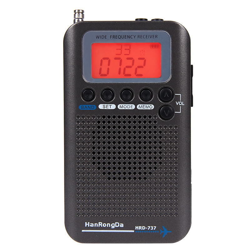 March Expo High Quality Portable Airband Fm Stereo Radio With Earphone