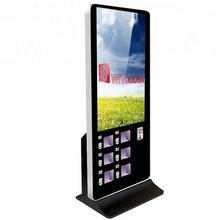 "55"" Phone charging touch screen totem"