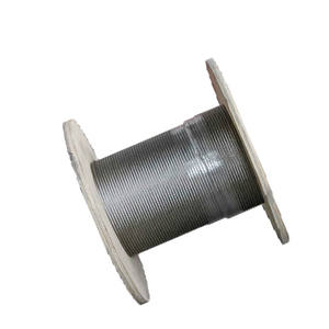 ungalvanized steel wire rope used in elevatotr 10-30mm