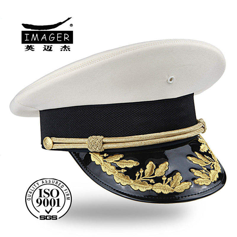 China military navy embroidery peak cap&hat