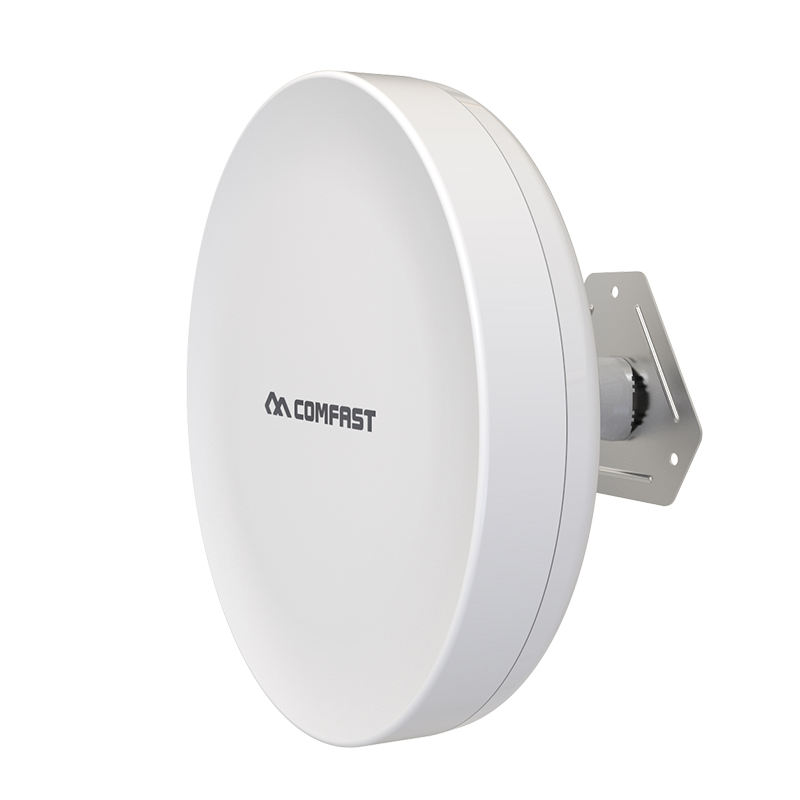 COMFAST CF-A5 OEM/ODM High Power 900 Mbps Outdoor WiFi Access Point, lange Afstand Draadloze Brug Outdoor CPE voor Mini Camera