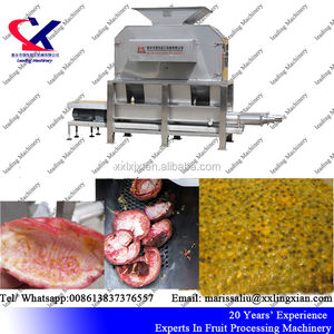 Factory Price Qualified Passion Fruit Pulper Machine/passion fruit pulping machine