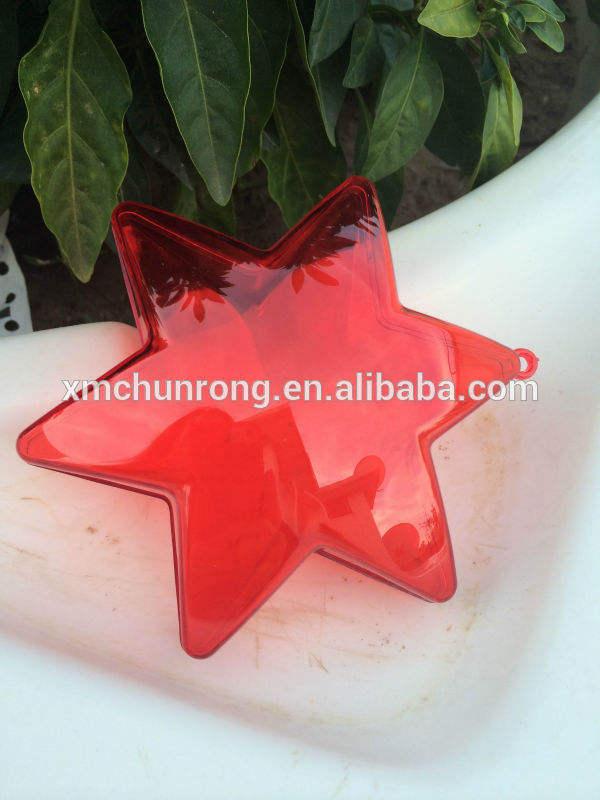 форме звезды окно/мяч/конфеты коробки