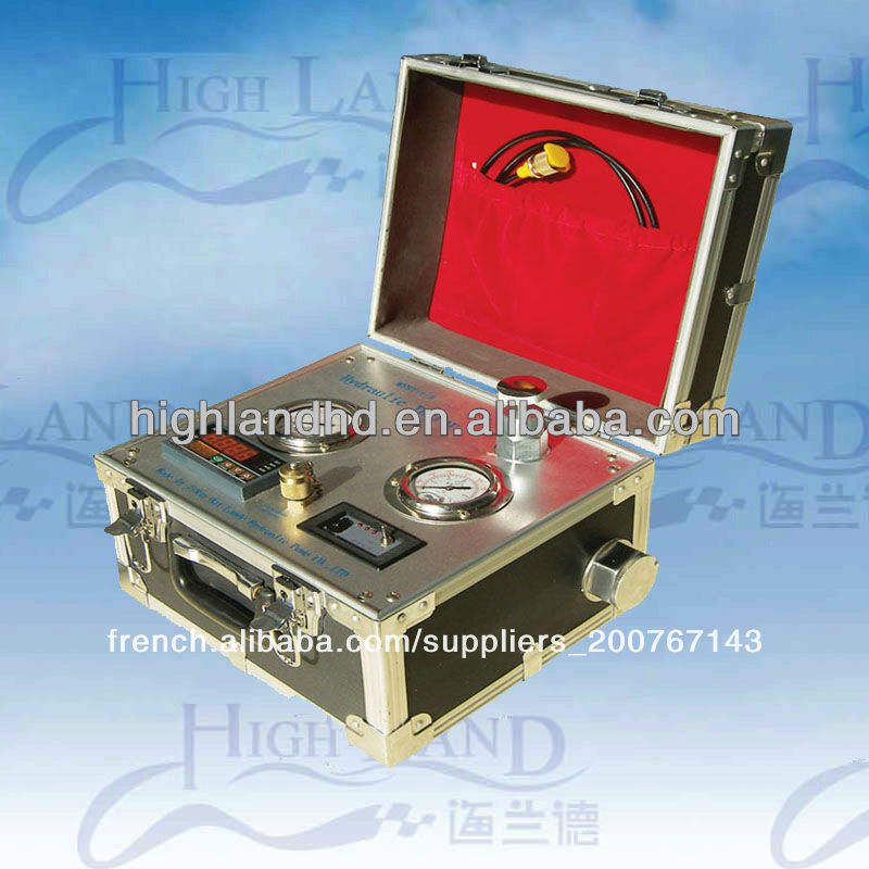portable hydraulique essais de pression <span class=keywords><strong>kits</strong></span> polyvalents avec bride