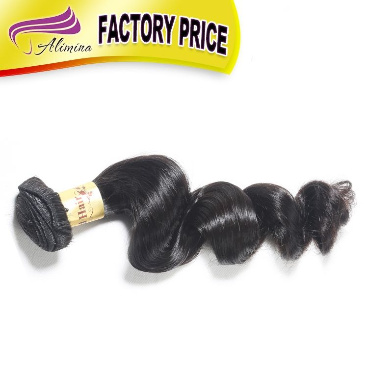 Alimina shed free grade 8a brazilian hair, wholesale hair extensions china, best human hair wedding hair accessories