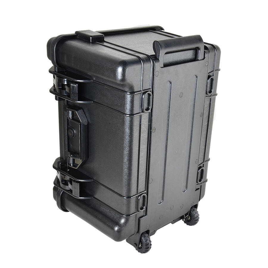 ABS Universal Waterproof Case Military Suitcase Plastic Hard Case Tool Box With Wheels