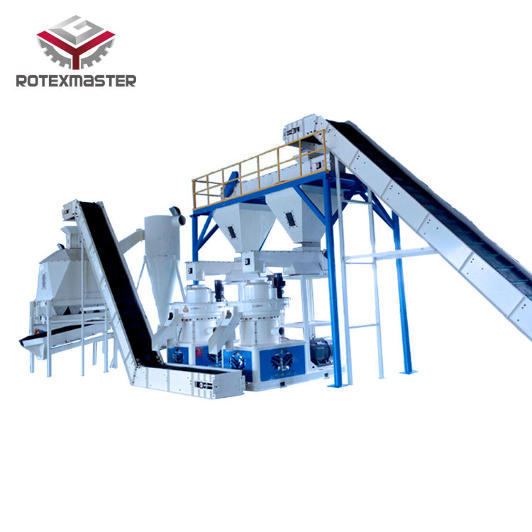 HRB Bearing Wood Pellet Mill Machine