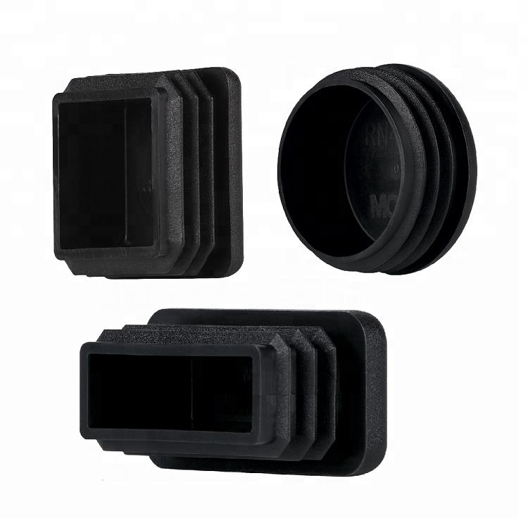 Black Plastic Plug caps 5 pcs Square tubing end Cap 90x90 mm 3,50 x 3,50 inch